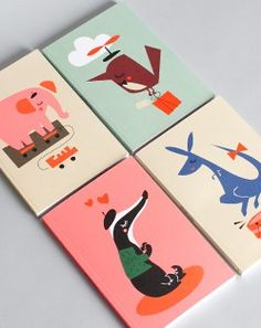 I love everything Darling Clementine does. Including these notebooks for Petite Alma.
