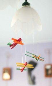 Samoloty z kolorowych patyczków i żabek Kids, Home Decor, Young Children, Boys, Decoration Home, Room Decor, Children, Kid, Children's Comics