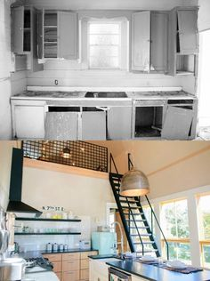 Before and After: The Shotgun House Kitchen