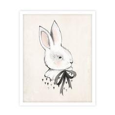 bunny print | rylee