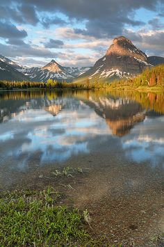 Sinopah Dawn, Glacier National Park (pinned by haw-creek.com)