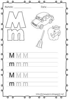 slide6 | CLASA PREGATITOARE Kids Education, Letters, Math Equations, Mai, Words, Blog, Places, Early Education, Letter