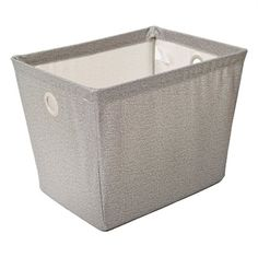 Storage Bins & Basket 05406 Small x Twill Fabric Wire Bin Storage Bins, Tool Storage, Smart Home Appliances, Laundry Supplies, Plumbing Tools, Outdoor Paint, Fabric Bins, Lowe's Canada