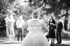 The gorgeous bride looking at her guests duing COVID-19 restrictions, at Arnot Hill Park, Nottinghamshire Hill Park, Bride Look, Photography Portfolio, Flower Girl Dresses, Wedding Photography, Wedding Dresses, Fashion, Bride Dresses, Moda