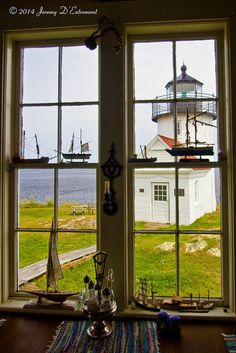 A keeper's view of Curtis Island Light, Camden, Maine