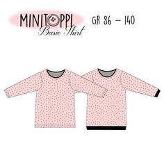 MINITOPPI Basic Shirt Gr. 86-140 *Freebook*