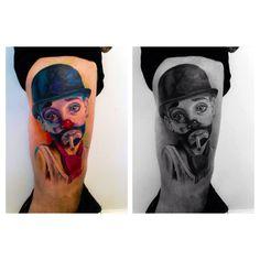 Clown, little boy, smoking kid, tattoomini