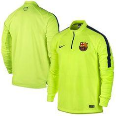 Barcelona FC Nike Squad Midlayer Jacket - Yellow