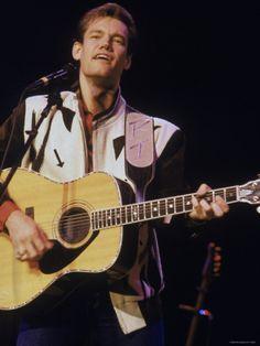 Country Singer Randy Travis Performing