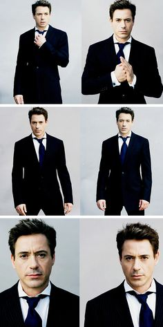 Robert Downey Jr. - iron man and Sherlock Holmes, he plays conceited genius extremely well <3 love him in those movies