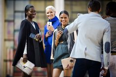 They Are Wearing: New York Fashion Week - Fashion meets technology