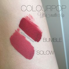 In  with this ultra matte lip from #COLOURPOP Did you try ? What is your fav? #differentisthebest