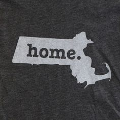 Must buy soon. The Home. T - Massachusetts Home T, $25.00 (http://www.thehomet.com/massachusetts-home-t/)