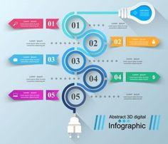 Business Infographic creative design 4536