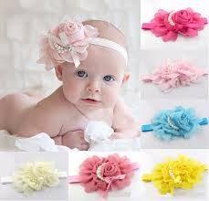 Resultado de imagem para faixas de cabelo para bebe