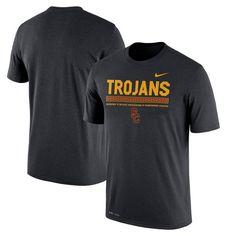 USC Trojans Nike 2017 Staff Legend Dri-FIT Performance T-Shirt - Black