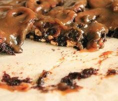 Brownies með saltkringlum og karamellu - mbl.is