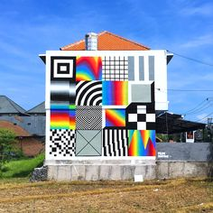 A selection of recent murals by artist Felipe Pantone (previously featured here). See more images below!                         … Continue reading →