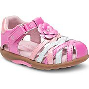 SRT Lily Sandal, Light Pink Multi
