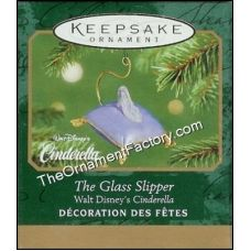 2001 Glass Slipper, Disneys Cinderella, Miniature