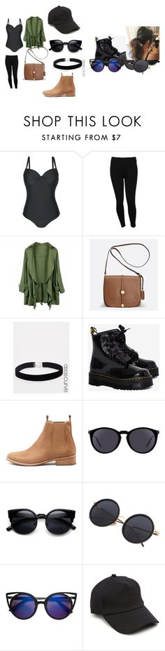 """""""Saturday afternoon :)"""" by busintanda on Polyvore featuring M&Co, Avenue, ASOS Curve, Dr. Martens, Mollini, Yves Saint Laurent and rag & bone"""