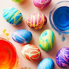 Mix and Chic: Creative and beautiful Easter eggs and Easter centerpiece ideas!
