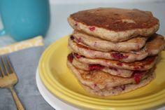 Bananaberry Pancakes [Vegan]