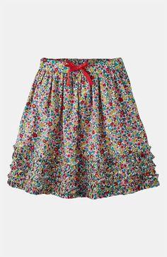 Mini Boden Ruffle Hem Skirt (Little Girls & Big Girls) available at #Nordstrom