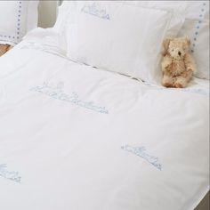 Blue Bunnies Single Duvet Cover by SARAHK designs | SARAHK designs