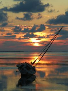 sailboat sunset belogs to Sunsets and sunrises