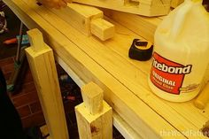 As a woodworker, you must need a workbench to work comfortably. Buying a workbench can be costly. Woodworking Courses, Woodworking School, Beginner Woodworking Projects, Woodworking Skills, Learn Woodworking, Woodworking Crafts, Youtube Woodworking, Custom Woodworking, Building A Workbench