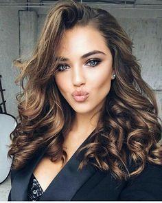 Best hair color for brunette. #lipcolorsforbrunettes