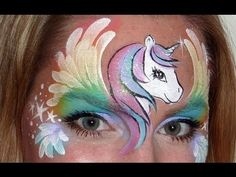 A pretty and whimsical design that all girls will love! Im going to be on FABA TV!!! Please come see my FREE live show on February 15th. For more details, please visit: www.fabatv.com Ill be at the Face and Body Art International Convention and I would love to see you there! Check it out! www.fabaic.com