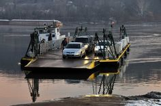 Anderson Ferry, Cincinnati, Ohio. Winter Crossing, time to remember the cold days, makes you appreciate the spring, floods and all.