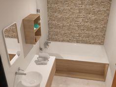 Fürdőszoba 3D Látványterv - 2018 Alcove, Bathtub, Bathroom, Standing Bath, Washroom, Bathtubs, Bath Tube, Full Bath, Bath
