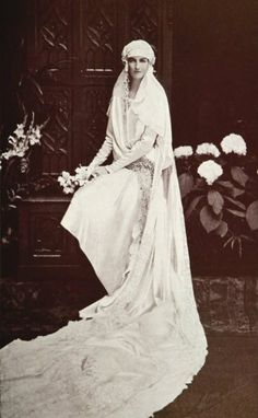 Princess Anne of Orléans (1906-86) marries, Nov. 5, 1927 Amedeo Pr of Savoy, Duke of Aosta
