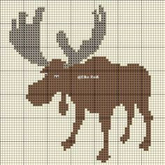 Cross Stitch Baby, Cross Stitch Animals, Cross Stitch Charts, Cross Stitch Patterns, Diy Crochet And Knitting, Knitting Charts, Crochet Chart, Cross Stitching, Cross Stitch Embroidery