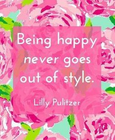 So Be Happy.....