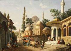 Şehzade Camii 19.YY Istanbul u