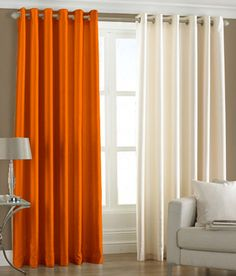PINDIA Set of Door Eyelet Curtains Buy Online at Low Price Snapdeal
