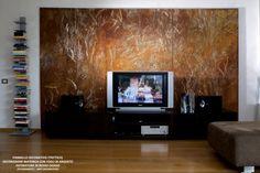 WWW.STUDIOADP21.IT TRITTICO MODERNO PER SALONE (TRITTICO FOR MODERN SALON) pannello in legno con struttura portante, fissa a muro. (wooden panel with load-bearing structure, fixed to the wall)