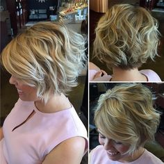 Textured bobs for summer! - Short haircuts for women