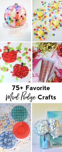 Mod Podge Crafts   Favorite Ways to Use Mod Podge   Decoupage Crafts and DIY   Kids' Crafts   Mod Podge Ideas