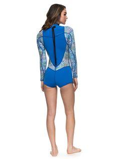 2 2mm Syncro Series - Long Sleeve Back Zip FLT Springsuit for Women dd2b0959956