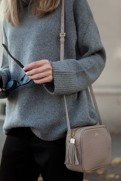GiGi New York | Stone Madison Crossbody | Fashion Muggings Blog