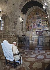 O Papa Francisco na Porciúncula diz que o mundo precisa de perdão, caminho necessário para sua renovação e renovação da Igreja. #Papa #perdão