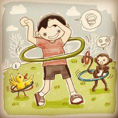 Hula hulaaa hula hoops