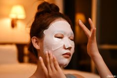 THE GINZA: Moisturizing Mask  A popular item that helps make skin resistant to problems  #japankuru #theginza #shiseido #skincare #facepack #japanesebeauty #moisture #facemask