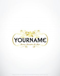 Create a logo free online crest crown logo templates create a exclusive design gold floral logo compatible free business card reheart Images