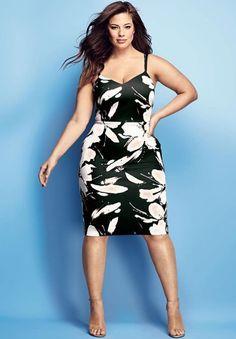 """Ashley Graham, """"plus size model"""" américaine. Très connue aux Etats Unis, elle a même créé sa propre ligne de lingerie pour la marque """"ADDITON ELLE"""". #plussizemodel #curvywoman"""